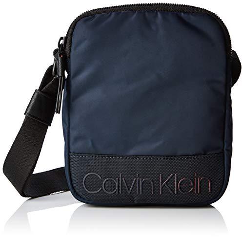 Calvin Klein Shadow Mini Reporter - Borse a spalla Uomo, Nero (Navy), 4x20x16 cm (B x H T)