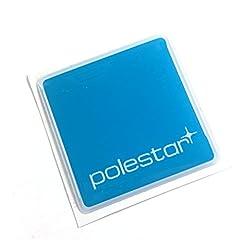 "Alstickers! POLESTAR car sticker, polyurethane resin film 1.57""X1.57"" (40x40 mm)"