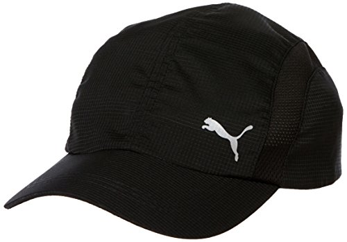 PUMA Cap Performance Running Cap, Puma Black, Adult, 21510 01