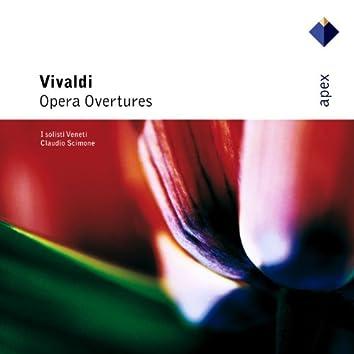 Vivaldi : Opera Overtures  -  Apex