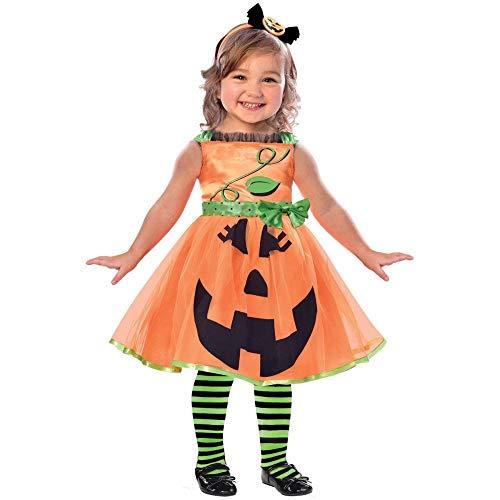 Generique - Disfraz Calabaza niña 2-3 años