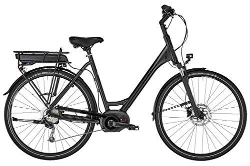 Ortler Bozen Performance Wave Bicicleta eléctrica para mujer, color negro mate, altura del cuadro 55 cm, 2019
