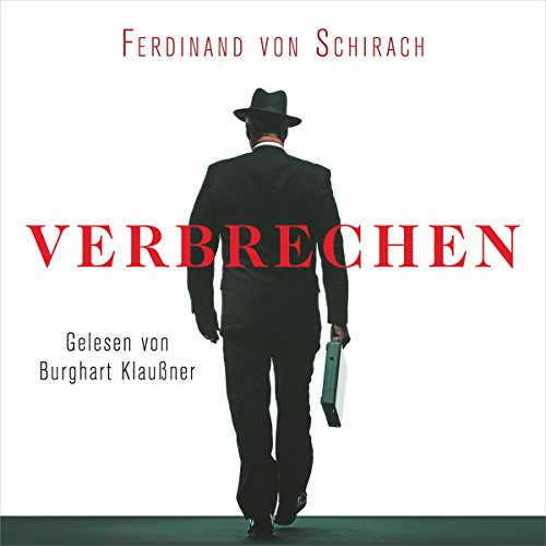 Verbrechen audiobook cover art