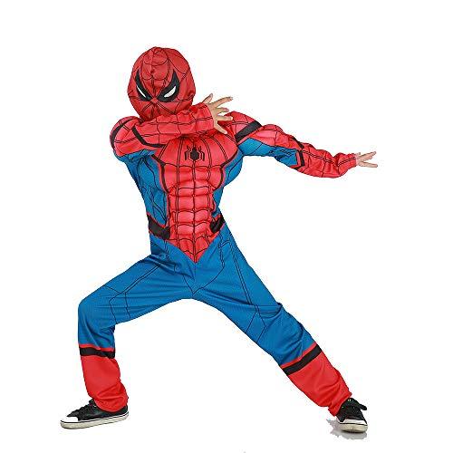 Cosplay Kleidung Die Erstaunliche Spider-Man Rückkehr Anime Kostüm Muskelanzug Siamesische Weihnachten Halloween Kostüm Für Kinder/Erwachsene Tragen L