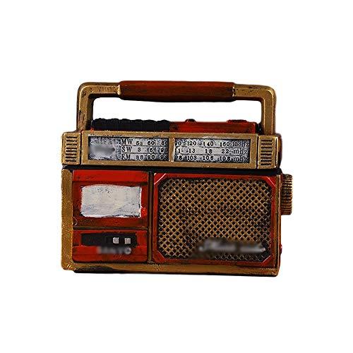 Cenicero de escritorio Fumar Bandeja de Cenicero Creativo Radio Modelo Adecuado para el Hogar Bar ktv cafés Decoración Mejor Regalo