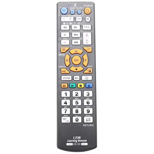 Mogzank Controlador de Control Remoto Inteligente Universal con FuncióN de Aprendizaje para TV Sat CBL