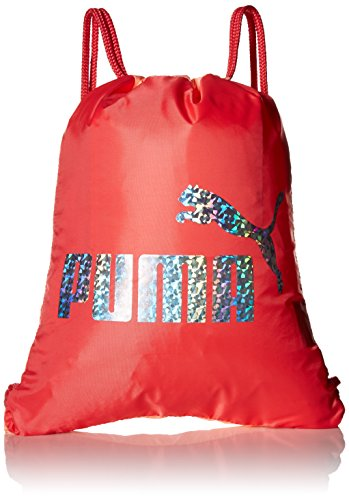 PUMA Girls' Big Evercat Advantage Reversible Carrysack, pink/multi, OS