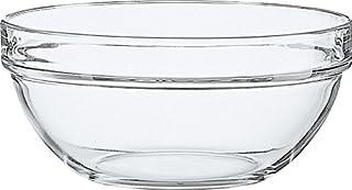 Luminarc Saladier Confection en Verre Trempé-Design Épuré Empilable-Compatible Micro-Ondes et Lave-Vaisselle-Fabrication e...