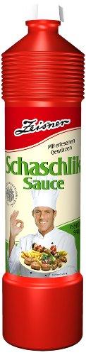 Zeisner Schaschlik-Sauce 800ml/940g Flasche, 6er Pack (6 x 800 ml)
