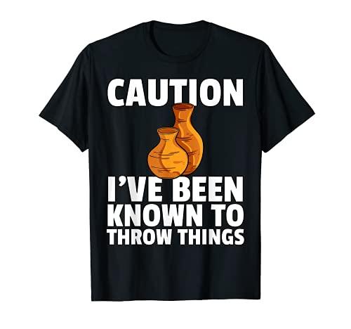 Regalo de cermica de cermica para el fabricante de artistas de ollas Camiseta