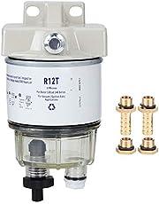 Kit de filtro separador de agua, vista rápida de rotación R12T, filtro de combustible marino para barco, separador de agua para lancha rápida