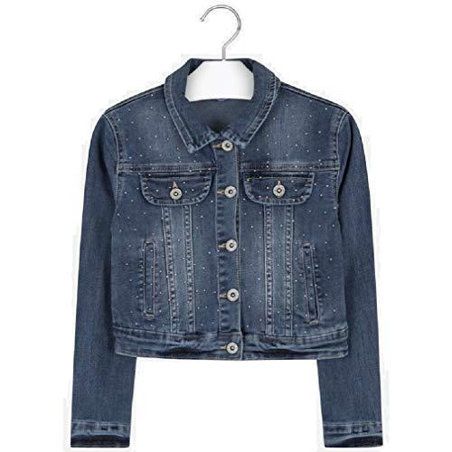 Mayoral Giacca in jeans da ragazza, modello 6461 blu 12 anni