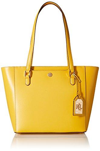 LAUREN Ralph Lauren Women's Newbury Halee II Shopper Medium Dandelion One Size