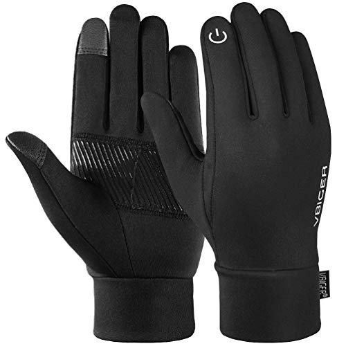 Reflective Sports Gloves Full Finger Winter Gloves Touch Screen Function