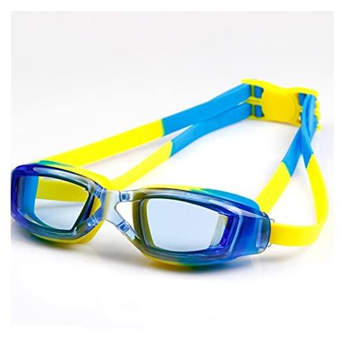 Gafas de Natación Cómodo Silicona Ajustable Gafas de natación Niños Anti-Niebla UV Eyewear Impermeable Claro