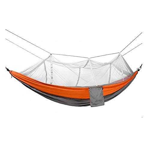 ZSR-haohai Travel Camping Super Light Hammock, Fishing Mosquito Net Single Swing, Outdoor Furniture