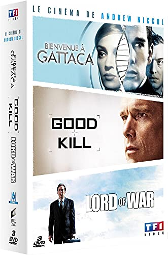 Coffret andrew niccol : good kill ; bienvenue à gattaca ; lord of war [FR Import]