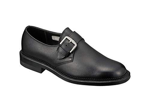[リーガル] 2321 モンクストラップ 革底 メンズ ビジネスシューズ 靴 (24.0, ブラック)
