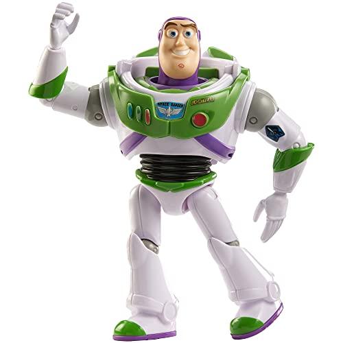 Disney Pixar-Personaggio Buzz Lightyear Snodato da Collezione,Giocattolo per Bambini 3+Anni,GDP69