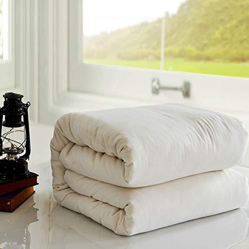 NOBAND Edredón Queen no daña la piel, hecho a mano, de algodón, para niños, guata de algodón XQ-11.20 (tamaño: 60 x 120 cm)