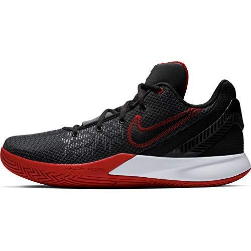 Nike Kyrie Flytrap II Basketball Shoe (Black/White/Red, Numeric_14)