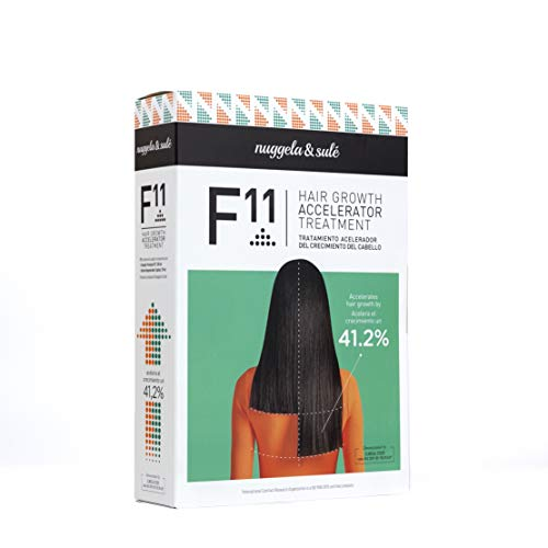 Nuggela & Sulé Tratamiento F11 Acelerador del Crecimiento del Cabello. El cabello crece más rápido hasta un 41,2%. DEMOSTRADO CLÍNICAMENTE.