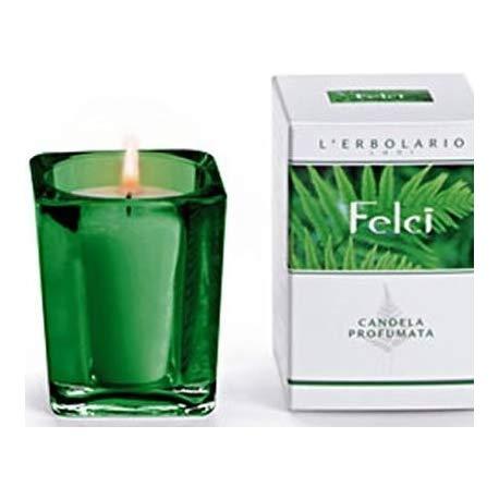 L'ERBOLARIO Candela profumata FELCI bicchiere durata 14ore FERN perfumed candle
