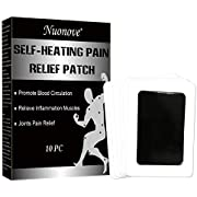 Schmerzlinderung Patch, Schmerzlindernde Pflaster, Wärmepflaster, Pain Relief Patch, Fördern Sie die Durchblutung, Entzündung Muskeln lindern, Gelenke Schmerzlinderung, Körper Schmerzlinderung, 10PC