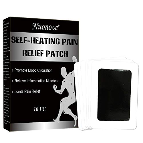 Pain Relief Patch, Parches de Calor, Parches Alivio del Dolor, Parche autocalentador, alivio del dolor, alivio del dolor de hombro, Self Heating warming meridians Patches plaster, 10 pc