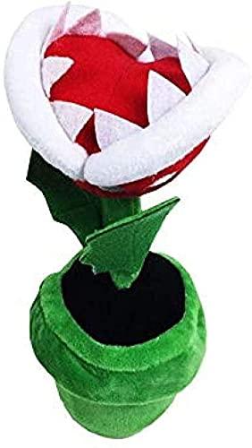 NC75 1 Uds 20cm muñeca de Felpa Flor de piraña muñeca de Juguete de Felpa muñecas de Anime Juguetes Blandos para niños