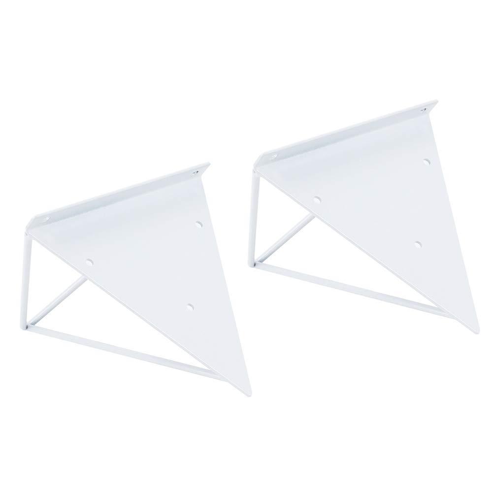 2 Pack Or Triangle Support /Étag/ère Murale Tr/épied Cuisine Support en M/étal Mural Support De Parole /Étag/ère Manuel Bricolage Support