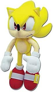 Great Eastern Sonic The Hedgehog Plush-12 Super Sonic (GE-8958)