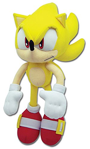 Great Eastern Sonic The Hedgehog Plush-12 Super Sonic (Ge-8958)
