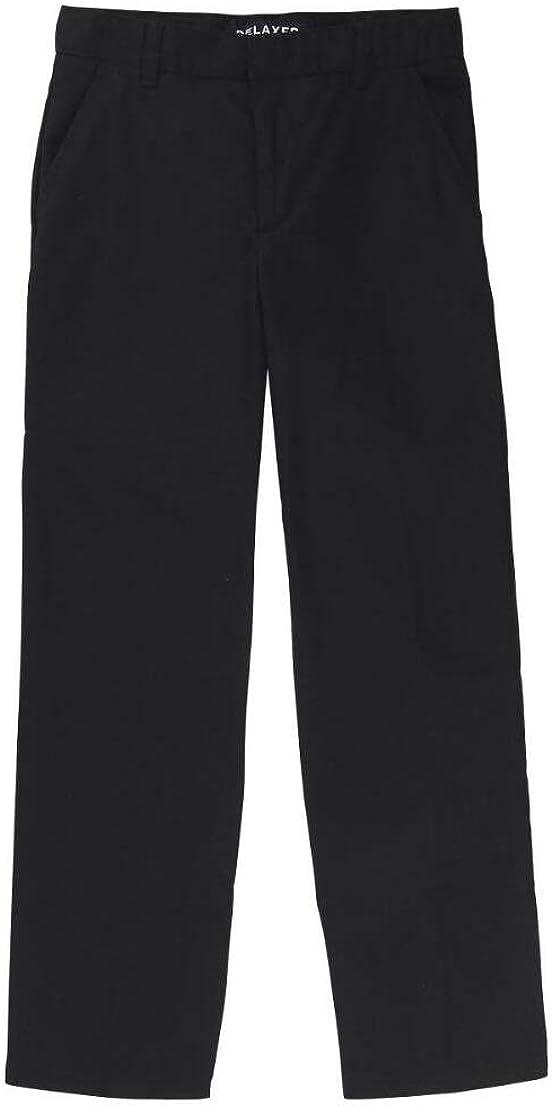 French Toast Boys Straight Fit Pant w/Adjustable Waist(16 Black)