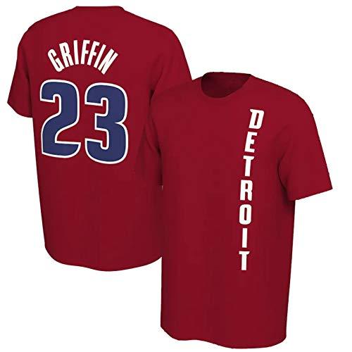 Blake Griffin #23 Isaiah Thomas #0 Basketball T-Shirt NBA Jersey Casual Sports Top Short Sleeve