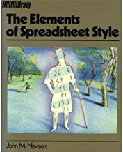 The Elements of Spreadsheet Style