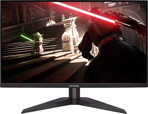 Viewsonic VX2705-2KP-MHD 68,6 cm (27 Zoll) Gaming Monitor (WQHD, IPS-Panel, 1 ms, 144 Hz, FreeSync Premium, geringer Input Lag, Lautsprecher) Schwarz
