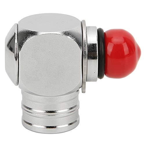 Adaptador de Buceo, Accesorios de Buceo de latón Cromado Superior Adaptador de Baja presión para regulador de Buceo(High Tube)