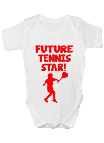 Avenir de Tennis Motif étoile Sport Bébé-Baby - 0-3 mois pour les tailles 12-18 mois