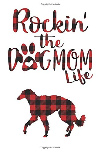 Rockin' the Dog Mom life Buffalo plaid Silken windhound Dog Notebook: Great gift for Mom, Silken windhound journal, Dogs Notebook Gift, Silken ... 110 Pages, 6x9, Soft Cover, Matte Finish