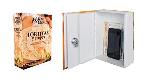 Arregui C9371 Caja De Caudales Camuflada Como Envase De Alimento, Multicolor, 137 X 188 X 68 Mm