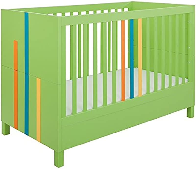 Little Guy Comfort 4013147 Hometown Children S Convertible 3 In 1 Crib And Youth Toddler Bed Conversion Kit Large Lime Green