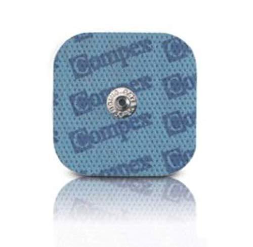 COMPEX 4 ELETTRODI PER STIMNOLAZIONE MUSCOLARE, EASY SNAP, 50x50mm