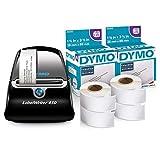 DYMO Label Printer LabelWriter 450 Direct Thermal Label Printer with 6 Address Label Rolls, 2100 Labels