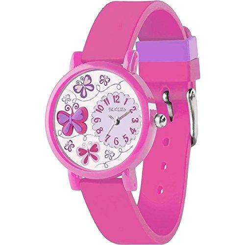 Nana 's Party Versand Schnell Kinder Uhren–Auswahl von Themen und Farben–Mädchen & Jungen (Geschenk, Uhr, Tikkers) 3D Butterfly - Pink (TK0074)