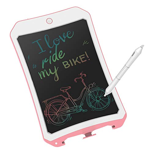 8.5 inch Writing &Drawing Board Doodle Pad Toys for Kids, VNVDFLM Birthday Easter Presents for 6-8 Years Old Children & Adults, Colorful LCD Graffiti Tablet with Stylus for Drawing Writer (Pink01)