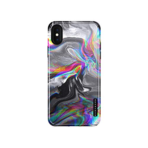 iPhone Xs Max Case Marble, Akna Sili-Tastic Series High Impact Silicon Cover with Full HD+ Graphics for iPhone Xs Max (101644-U.S)