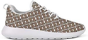 GuLuo Women's Running Shoes Cute Flats Jogging Training Walking Sneaker