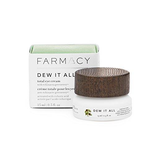 Farmacy Dew It All Total Eye Cream - Moisturizing Under Eye Cream for Lines & Wrinkles