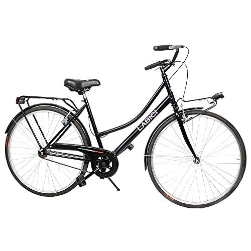 LABICI BIKECONCEPT Modello Olanda, Bicicletta Donna, Nero, 26'